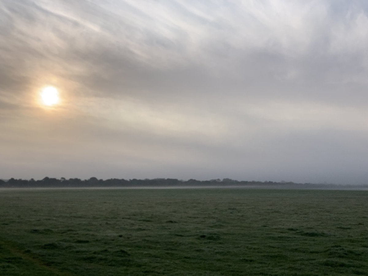 Misty on the moor this morning... #ViewFromTheBike https://t.co/qe9hU8tcGf