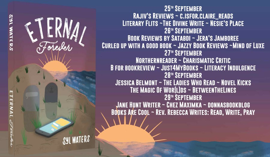 Blog tour schedule for Eternal Forever