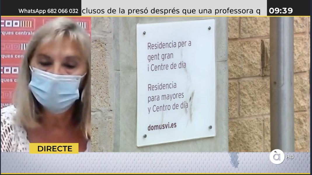 Lupe Pavón explica que CCOO porta més de 12 anys rebent queixes de les treballadores per la situació que es viu des de fa anys en la residència d'Alcoi #CCOOEsMou https://t.co/8GUA6Gg5dM