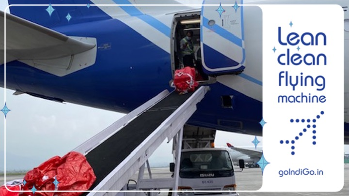 Our Kolkata team successfully handled their first-ever cargo charter to Kathmandu, carrying 9.1 tonnes of cargo recently. Formerly, the airport has operated cargo charters to Dhaka, Yangon, Bangkok, Singapore and Dubai. It's only onwards and upwards from here! #LetsIndiGo https://t.co/PWLb66p98P