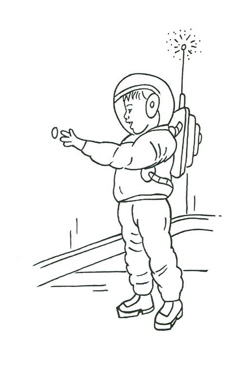 Clever Dad and the Space Rocket. Tristan discovers the hidden button to enter the secret moon base  Amazon book/Kindle https://t.co/D7vmJijaHy  In September I'm donating a % of any book sales to  @Scotbeekeepers    #Space #Rockets https://t.co/9aTsVzKPtc