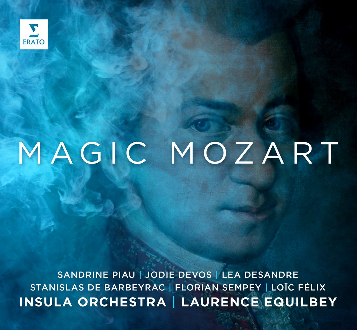 ✨ OUT NOW! Magic Mozart by Laurence @Equilbey and @InsulaOrchestra brings together numbers from Mozart operas in a program conceived around magic: https://t.co/dA53gvDpS1  Feat. Sandrine Piau, @JodieDevos, @LeaDesandre, Stanislas de Barbeyrac, Loïc Félix, and @FlorianSempey. https://t.co/pqdvDGeIDj