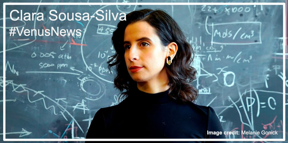 Coauthor @DrPhosphine @eapsMIT researcher, Clara-Sousa Silva, had thought about searching for phosphine as a 'biosignature' gas of non-oxygen-using life on planets around other stars, because normal chemistry makes so little of it. #VenusNews #PhosphineOnVenus https://t.co/oVSjv3IDlX