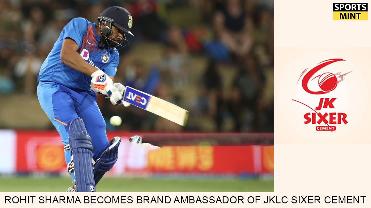 #JKLCSixerCement has roped in Indian cricketer and #MumbaiIndians skipper, #RohitSharma as their brand ambassador. @ImRo45 @JKLCofficial  #sportsmintmedia #BulandSoch #Indiancricket #sportsbusiness #sportsmarketing #cricketbusiness