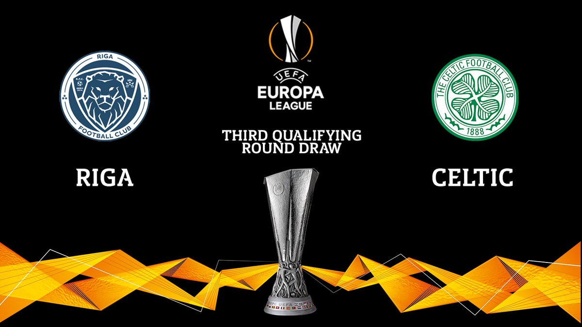 🇱🇻 We will face @RigaFC_official in the@EuropaLeague Third Qualifying Round.  Full details to be confirmed.   #UEL 🏆 https://t.co/jE8HEOgFsw