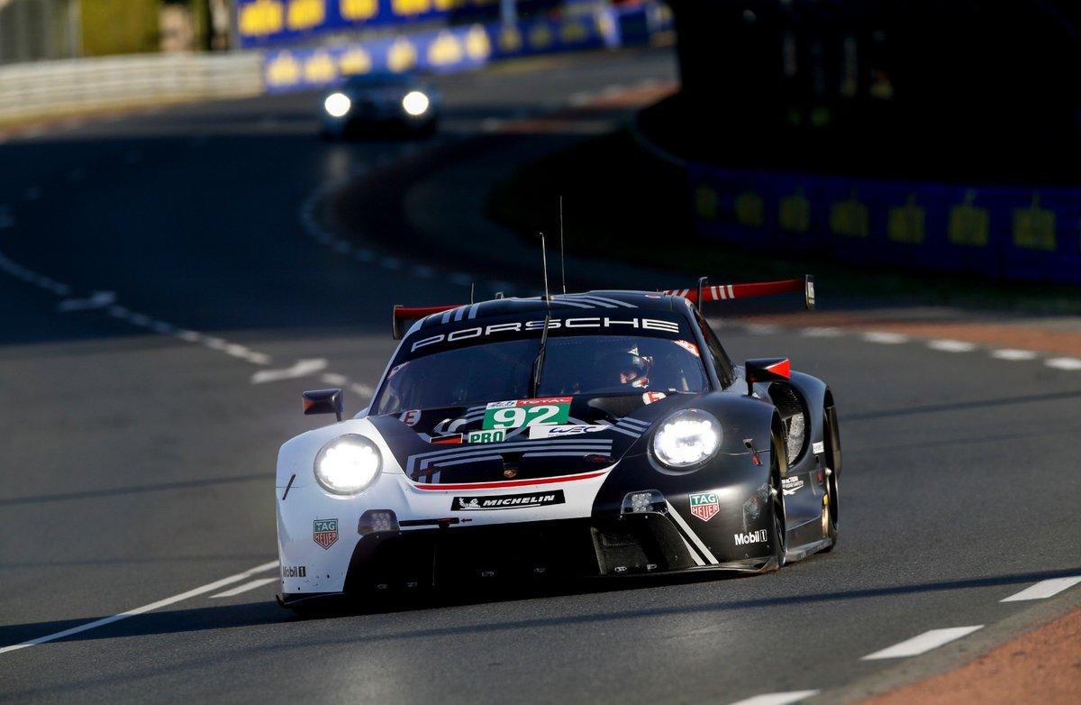 PorscheRaces :user Image Credit RT: @PorscheRaces… #porsche #PorscheMobil1Supercup #PorscheRaces #sportscar #motorsport #racecar #racing... #LeMans24 - We're back to green. @GianmariaBruni currently behind the wheel of No. 91 #Porsche #911RSR. @Vanth… https://t.co/P8WfwkvDyL