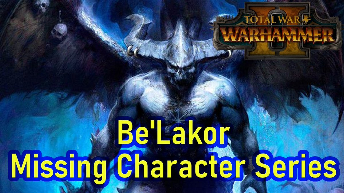 https://t.co/CIk7LOzi1q  A daemon prince of Chaos Undivided!  #Warhammer #Fantasy #OldWorld #Lore #Youtuber #Youtube #LoreVideo #Video #LoreChannel #TheGreatBookofGrudges #TotalWar #TotalWarWarhammer #WarhammerFantasy https://t.co/MDogGjOlOG