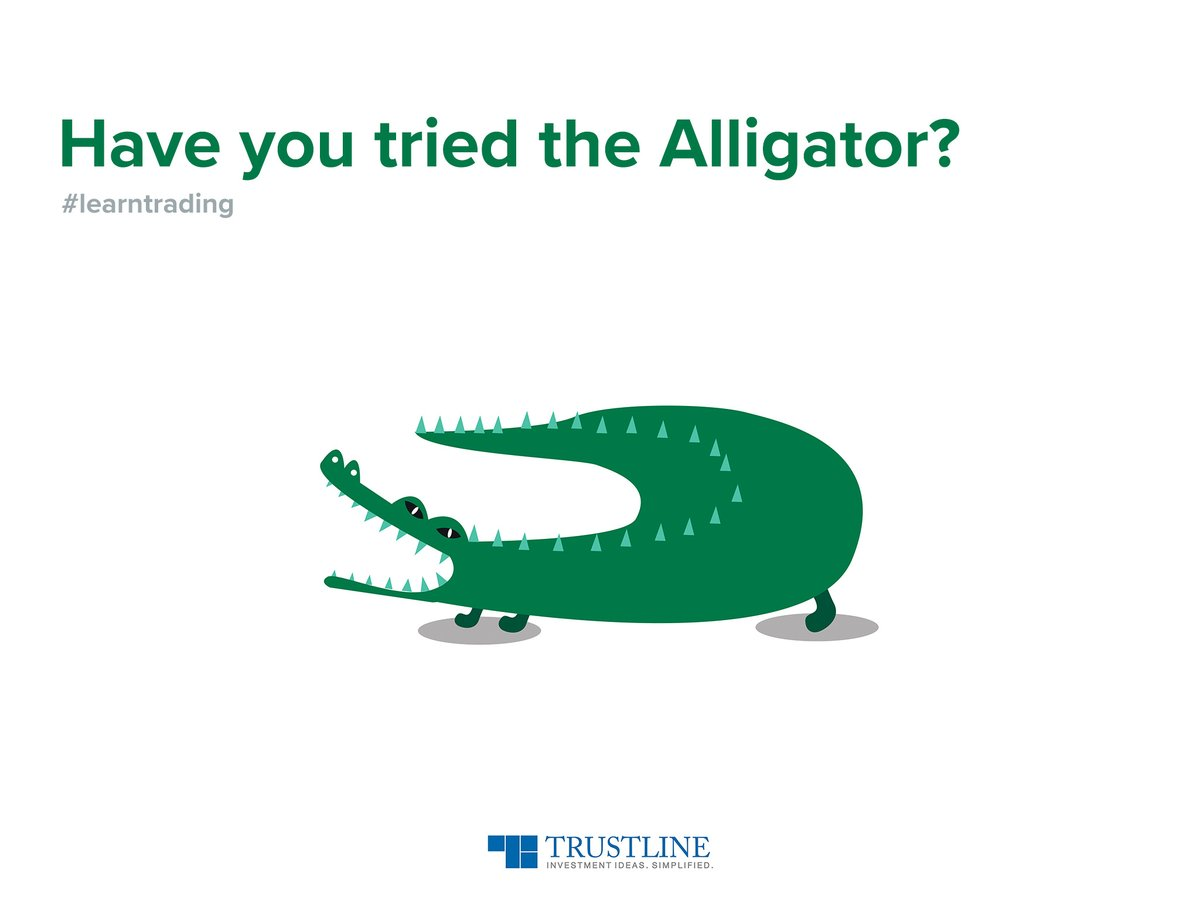 Alligator is an indicator overlaid on the price chart, designed to signal a trend's absence, formation and direction. #learntrading https://t.co/cgSqfw9TDw https://t.co/V20jE0r6jP