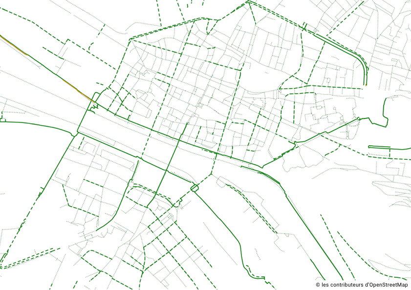 [#DevinetteGeovelo] [#MobilityWeek] C'est le retour des devinettes Geovelo ! Saurez-vous reconnaître cette ville à partir de ses aménagements cyclables ? 🚲 Donnez-nous des indices afin de ne pas révéler la réponse aux autres ! 👀 https://t.co/wQifB86Vqz