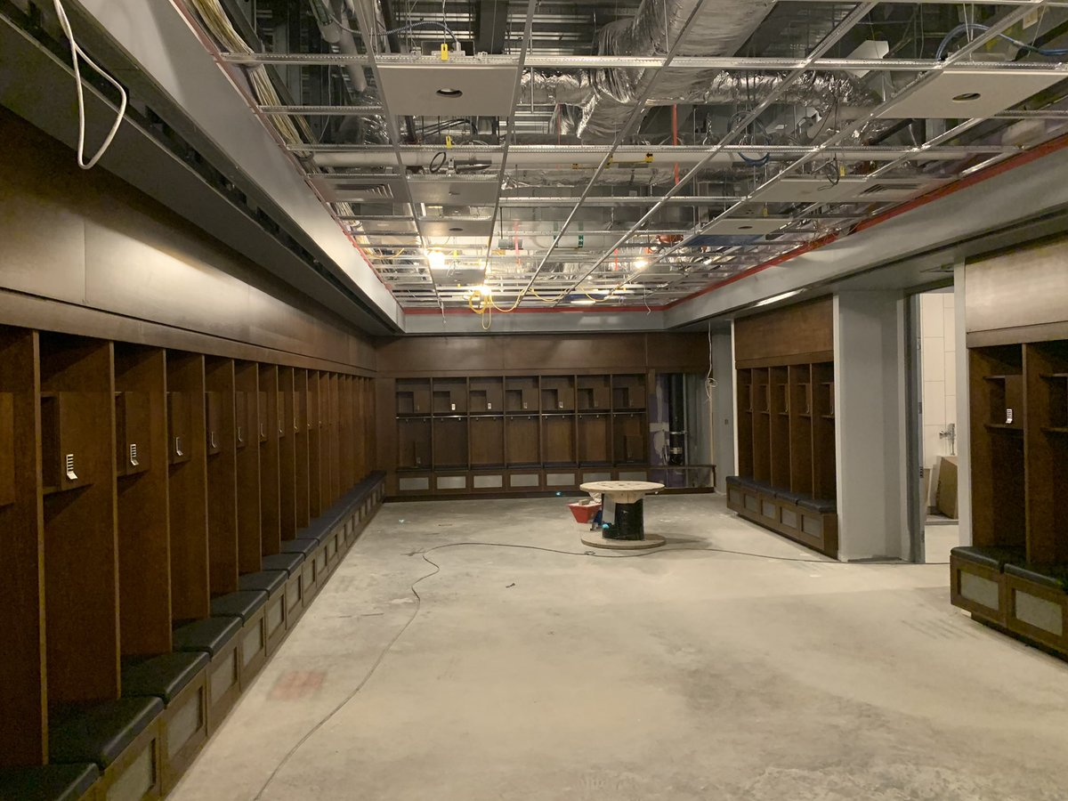For this Facility Friday, we step back inside the Rizza Performance Center to show off the progress we have made on our locker rooms! #BleedBlue https://t.co/yv3BtFD0JD