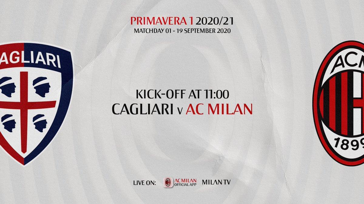 Domani non perderti l'esordio in campionato del #MilanPrimavera, LIVE sull'App❗ 👉 https://t.co/k2zluibzhx #CagliariMilan #SempreMilan #MilanYouth https://t.co/3w0Tju068B