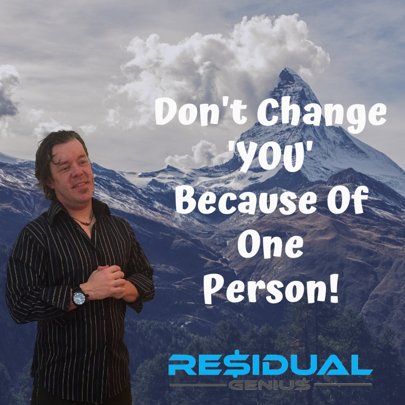 Don't Change 'YOU' Because Of One Person! #Happy #Positive #Success  https://t.co/i3hPrdQFDn https://t.co/Y5nWdvaovV