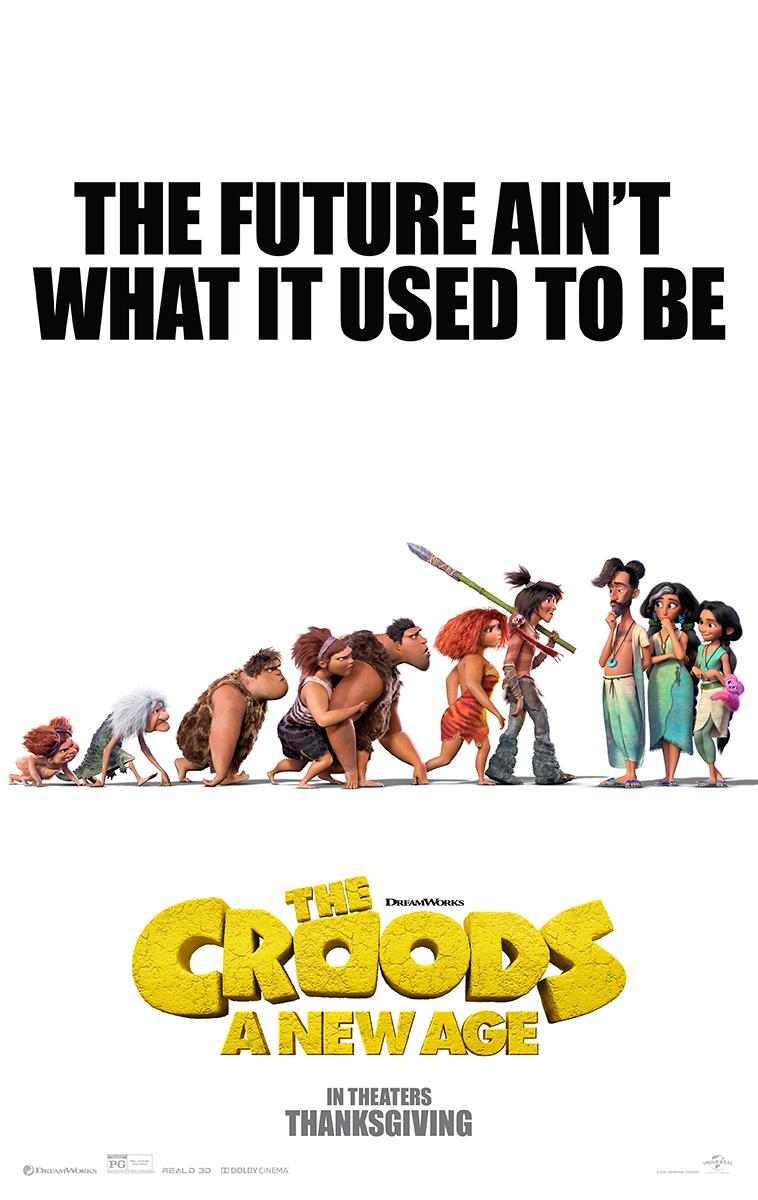 ¡THE CROODS: A NEW AGE de DreamWorks Animation se estrenará este 25 de noviembre!   #CroodsNewAge https://t.co/ZWhamE9dtb
