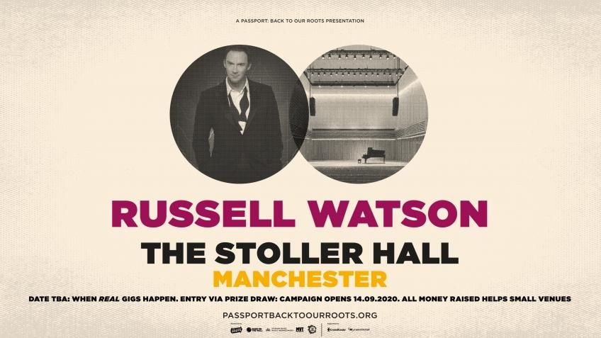 English tenor, @russellwatsonHQ is set to perform a one-off, intimate show at @StollerHall, Manchester to raise money for independent grassroots music venues. Will you chip in £5 to get entered to the @passportgigs prize draw? Enter here 👉 https://t.co/QpyYlriZ3p #saveourveneus https://t.co/3aZX2L1EFI
