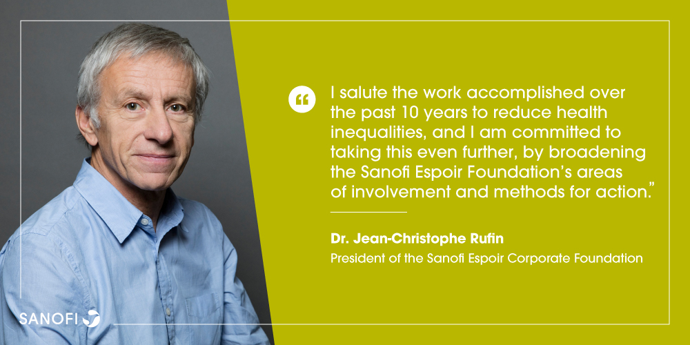 Today, Dr. Jean-Christophe Rufin joins the #SanofiEspoir Foundation as President. His experience as both a physician and diplomat will enable the Foundation to further their response to health distress among vulnerable populations.  https://t.co/0YFr2QdPsL https://t.co/lQMcTiW2wI