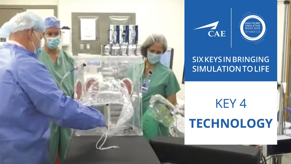 The 4th key in bringing simulation to life is the Technology and inventing new tools to meet new demands.  Listen to our new podcast from CAE's Amar Patel: Doctors of Ingenuity: Is this Portable Contagion Tent the Next Big PPE Device? https://t.co/drSm3ZnwU8  #hcsimweek20 https://t.co/03i2FUfMo2