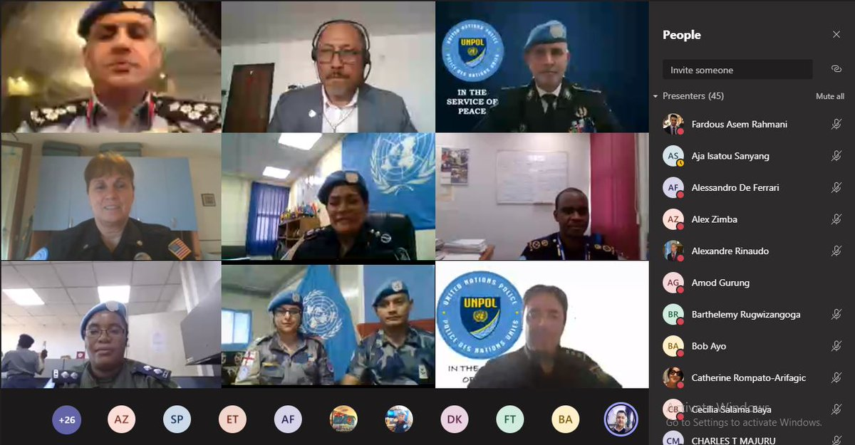 UN Police Adviser @LuisCarrilhoPC encouraged @UNPOL to keep strengthening their professional capacities & thanked them for delivering ongoing support to people of #SouthSudan at close of a career development workshop organized by @unmissmedia & #StandingPoliceCapacity. #A4P https://t.co/3xk1sgUzaB