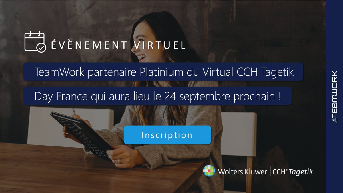 Image for the Tweet beginning: 👏 TeamWork partenaire Platinium du