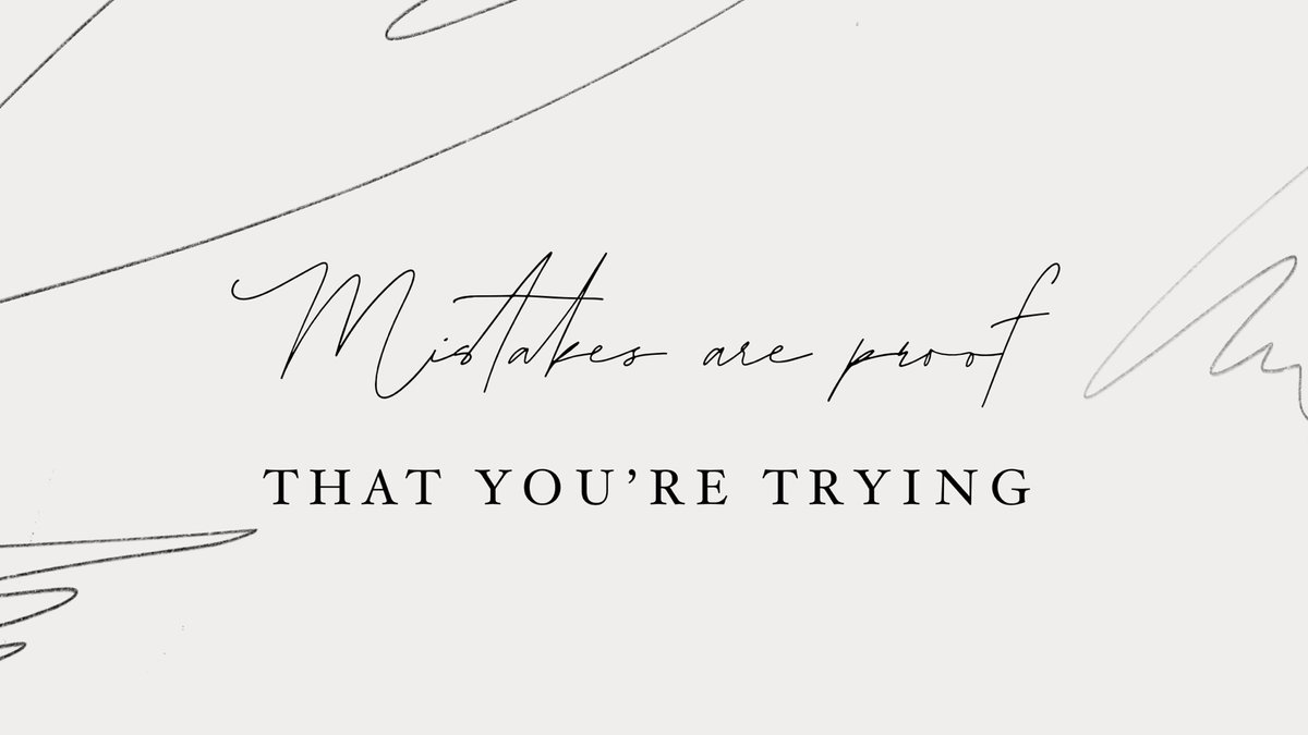 Mistakes are proof that you're trying #fridayfeeling https://t.co/d1YiuCnZaz