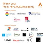 We'd like to say a HUGE thank you again to our amazing #PLACEDAcademy partners and sponsors! The first PLACED Digital Academy is now complete and there has been incredible work from our group of 34 young people. THANK YOU to everyone who made it possible! #PLACED