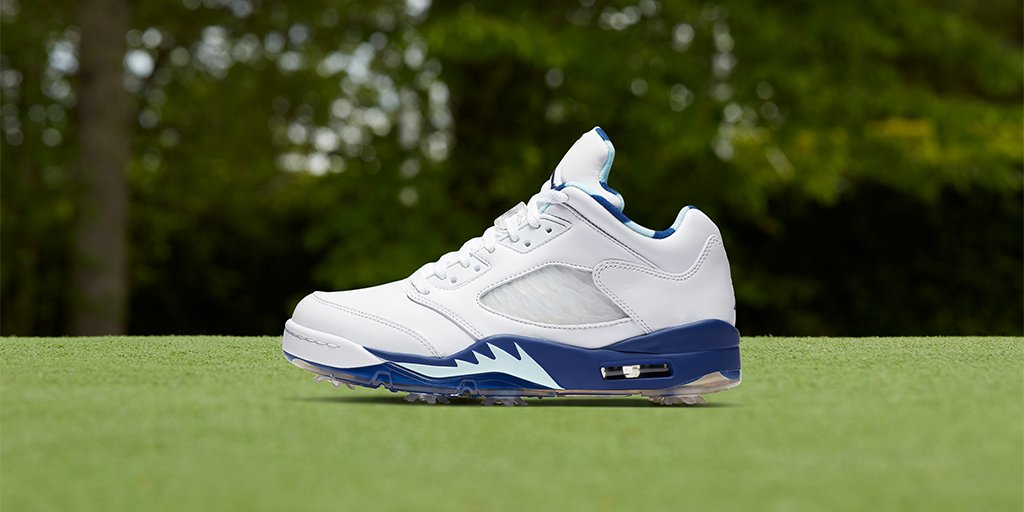Paying homage to Nike's heritage and to the iconic course in New York.   The @Jumpman23 Jordan 5 Low G 'Wings'    Shop 🇺🇸: https://t.co/v14iVldvKP https://t.co/vwkGtBNJa0