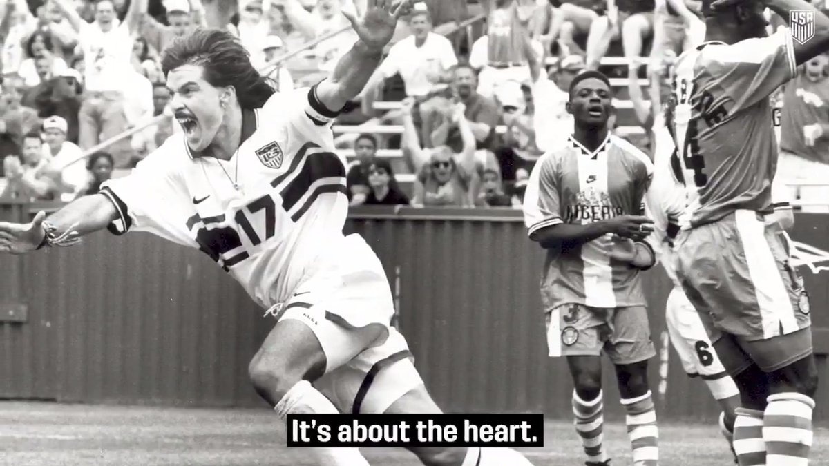 """""""The heart is so happy when it's out on the field."""" @USMNT legend @marcelobalboa17 joined The U.S. Soccer Podcast this week to talk his love for the game, his origins in the sport & much more. Listen/Download/Rate Apple: ussoc.cr/g6ag Spotify: ussoc.cr/a5jo"""