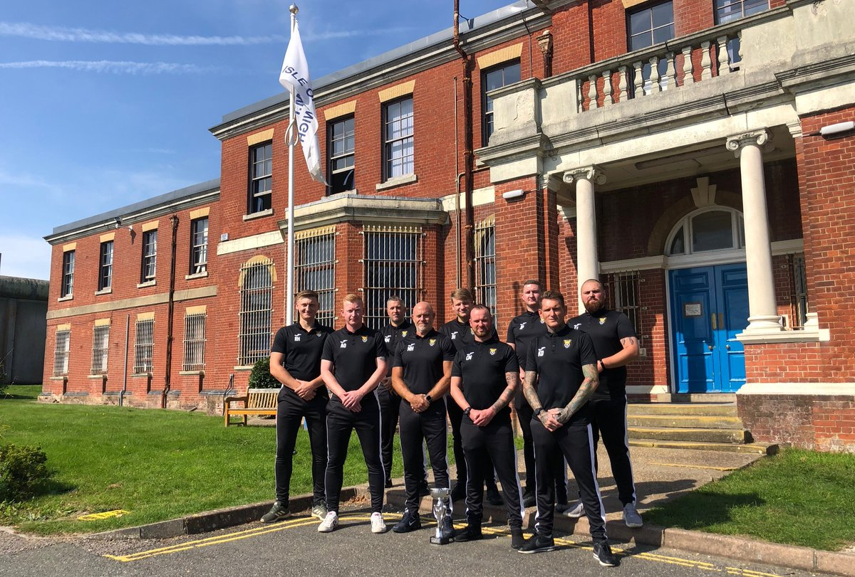 NEWS: Team HMP Isle of Wight is hoping for more success as the Island's Emergency Services Football League gets underway https://t.co/zqbw9CITS0 @HMPIOW #iow #isleofwight #iwnews https://t.co/MGz4Sn3ZfW