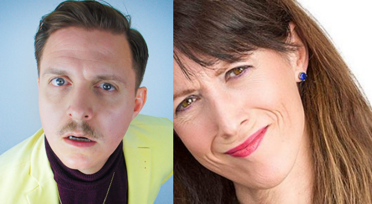 Join us for our first live Screaming Blue Murder Comedy Club since March!   Wednesday 21 October 8pm   Jim Marshall Auditorium  Compere Andrew Bird (@a_tweety_bird) introduces Sally-Anne Hayward (@SallyAnneComedy) and Joey Page (@thejoeypage).   Tickets >> https://t.co/QocCLG95md https://t.co/JrbOAK7KDa