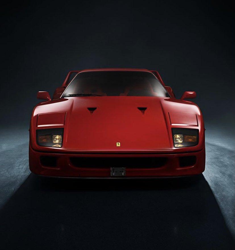 Ferrari F40 ♥️ https://t.co/Nw2iKOXqz3