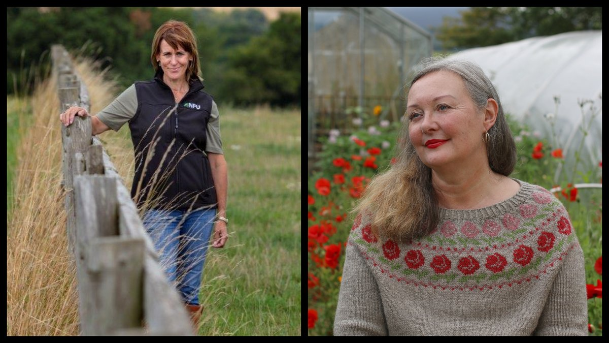 Hand knitting is on trend - but behind the scenes the wool industry is in turmoil with farmers resorting to burning their shorn fleece crop as Covid has halved their value. We talk to @astitchintime and the NFU's @Minette_Batters about the situation: https://t.co/4uyGMaC2r6 https://t.co/Gwj5Jbz44o