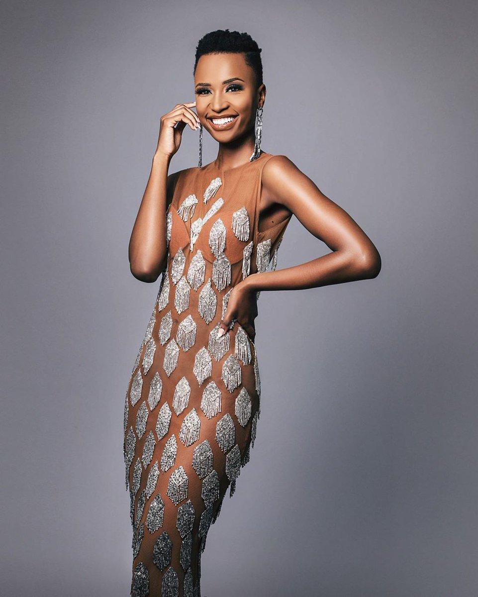 Happy birthday to our gorgeous Miss Universe @zozitunzi ❤❤❤