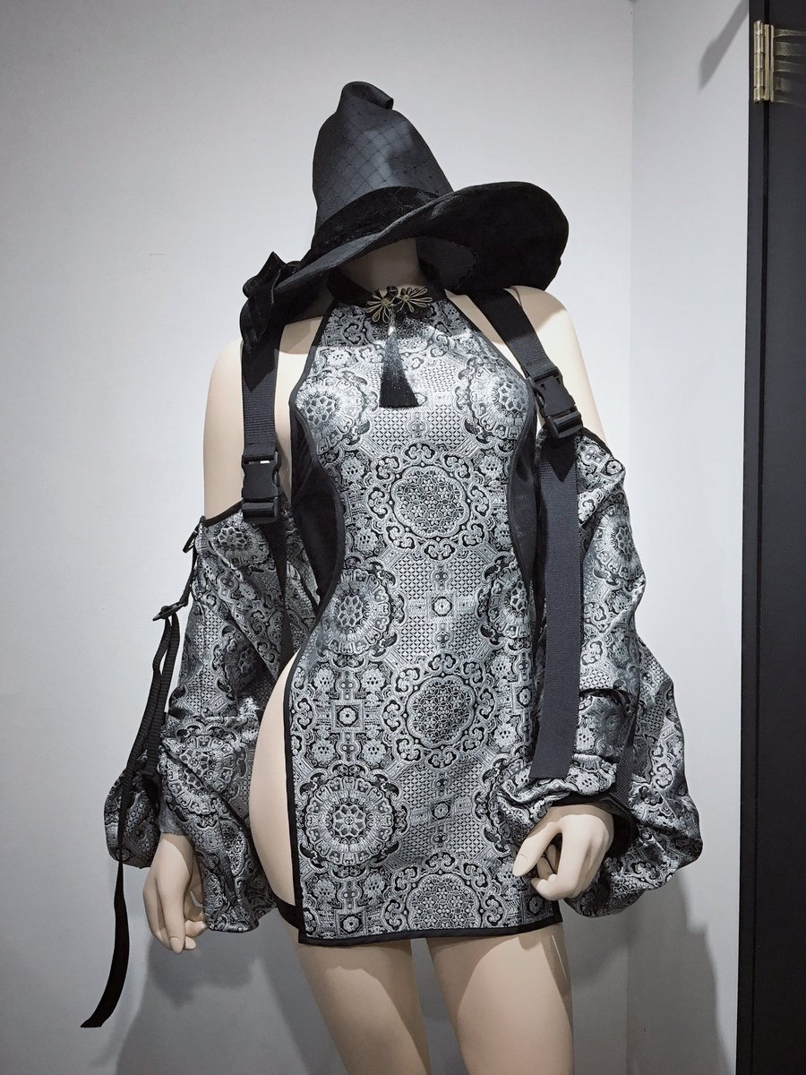 近代魔女のチャイナverデザイン最高すぎてみんなに見て欲しいし着て欲しい🥺🥺🥺