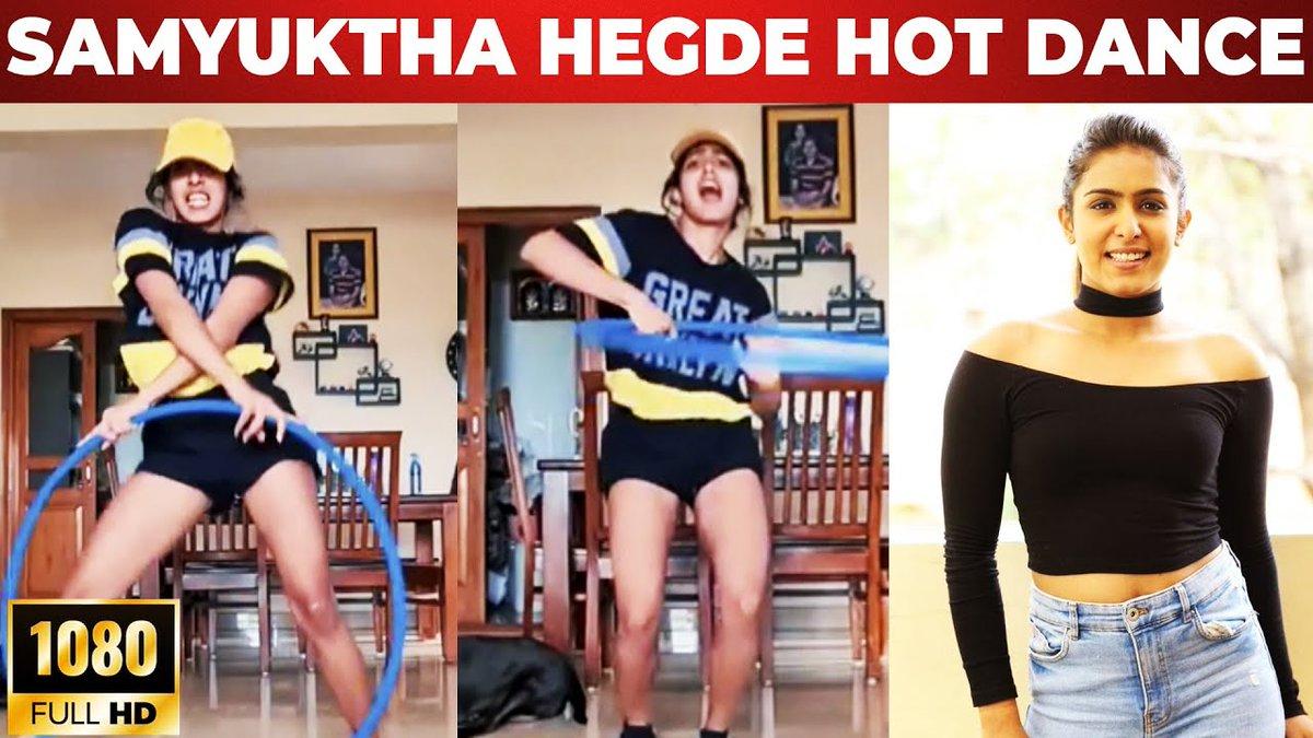 Samyuktha Hegde Hot Hula Hoop Dance | Comali | Puppy   Video link - https://t.co/7hDDsrgiOE  #SamyukthaHegde #Dance #GalattaPro #GalattaMedia https://t.co/fLCNvUTqaX