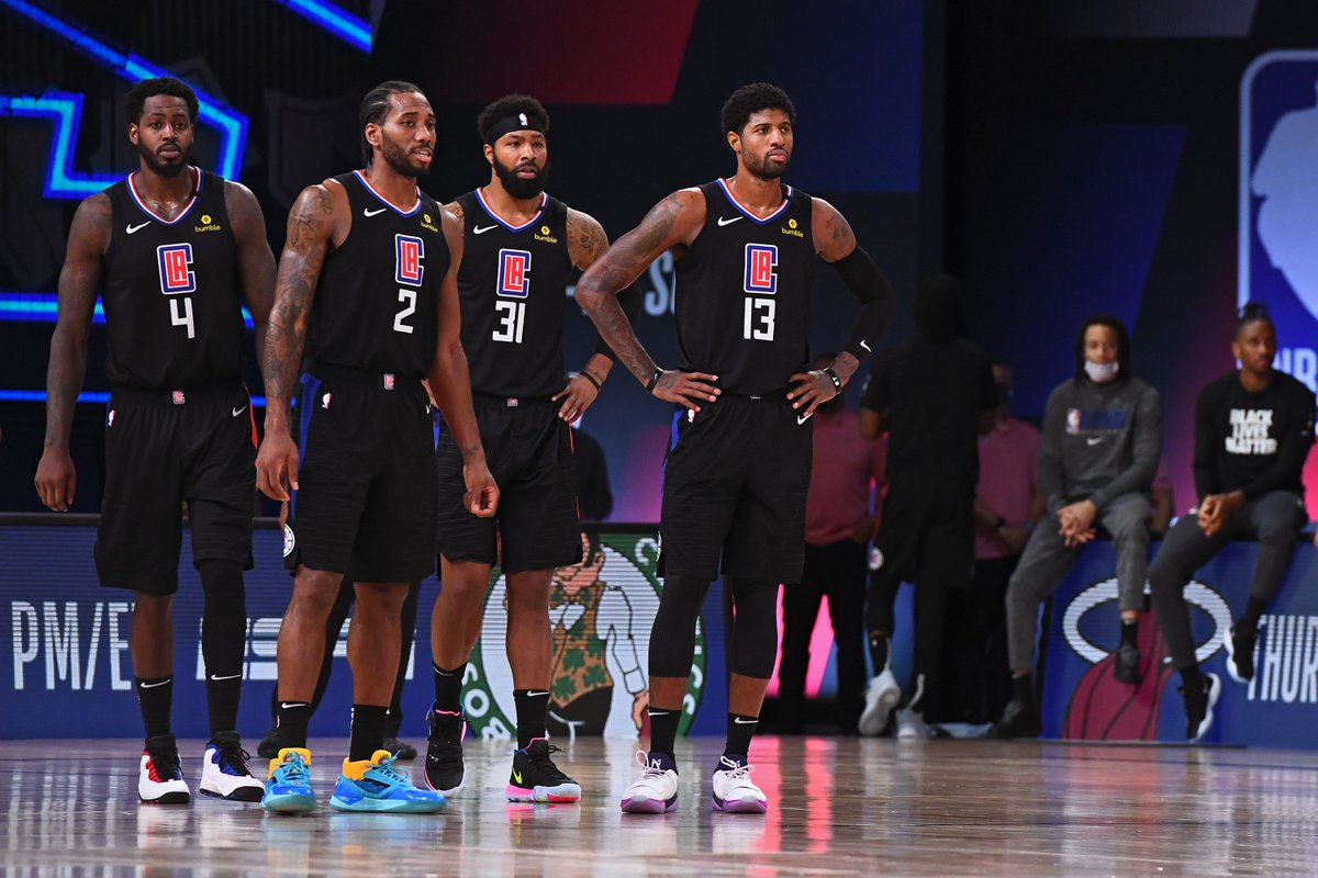 🎙 NEW @TheLong2Podcast 🎙  @petemrogers & Natty talk what went wrong for the #Clippers and predict the #NBA Conference Finals.  LISTEN: https://t.co/jZEGLtWanT https://t.co/oBV7aoCevw