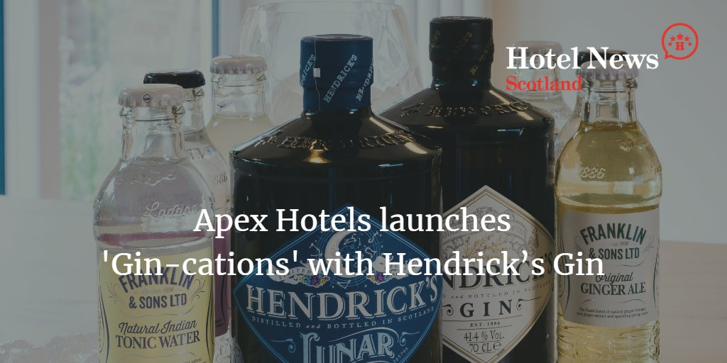Apex Hotels aims to lift your spirits. Enjoy! bit.ly/Gincations ___ #scotland #scotlandisnow