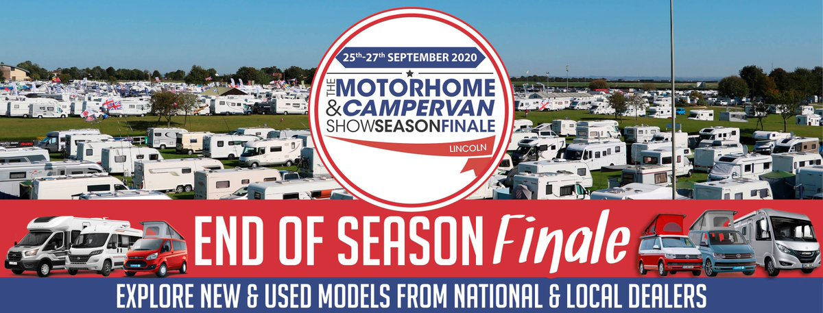We're excited to host The Motorhome & Campervan Show Season Finale 2020 this weekend!   Browse thousands of accessories from a wide range of exhibitors and dealers.  Find out more  - https://t.co/3WL6pXncdE https://t.co/mbsulryws7