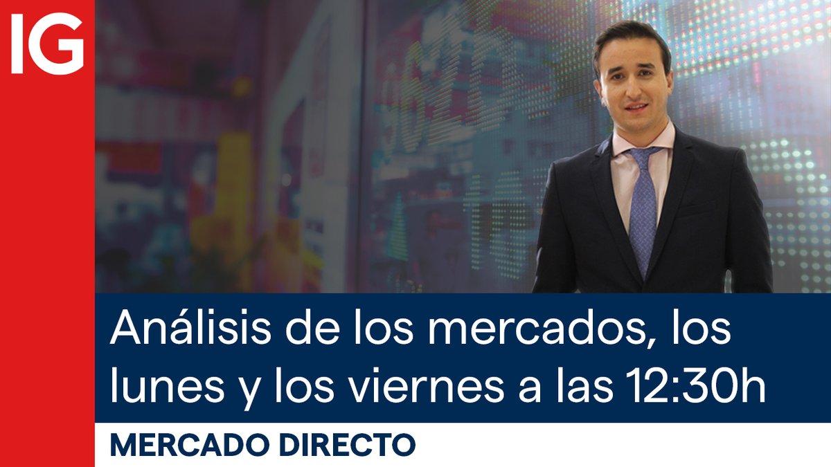 🔴 En 5 min comienza #MercadoDirecto, con @sergioavila_IG: analizaremos compañías españolas como #ArcelorMittal, #Inditex, #Colonial, #Bankia y #CaixaBank, profundizaremos en valores del mercado continuo, mercado europeo ¡ y más!. Puedes verlo aquí ➤ https://t.co/KsYPUQTShI https://t.co/PkxDHjNpRq