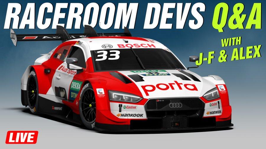 LIVE: Raceroom Devs Q&A