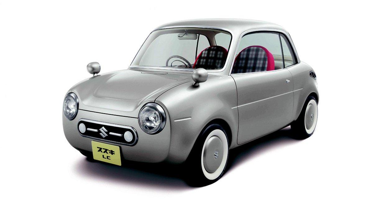 Concepts that time forgot: the Suzuki LC. This tiny kei car is so cute it'll rot your teeth → https://t.co/DJ5939NXNR https://t.co/BVTQHSJS73