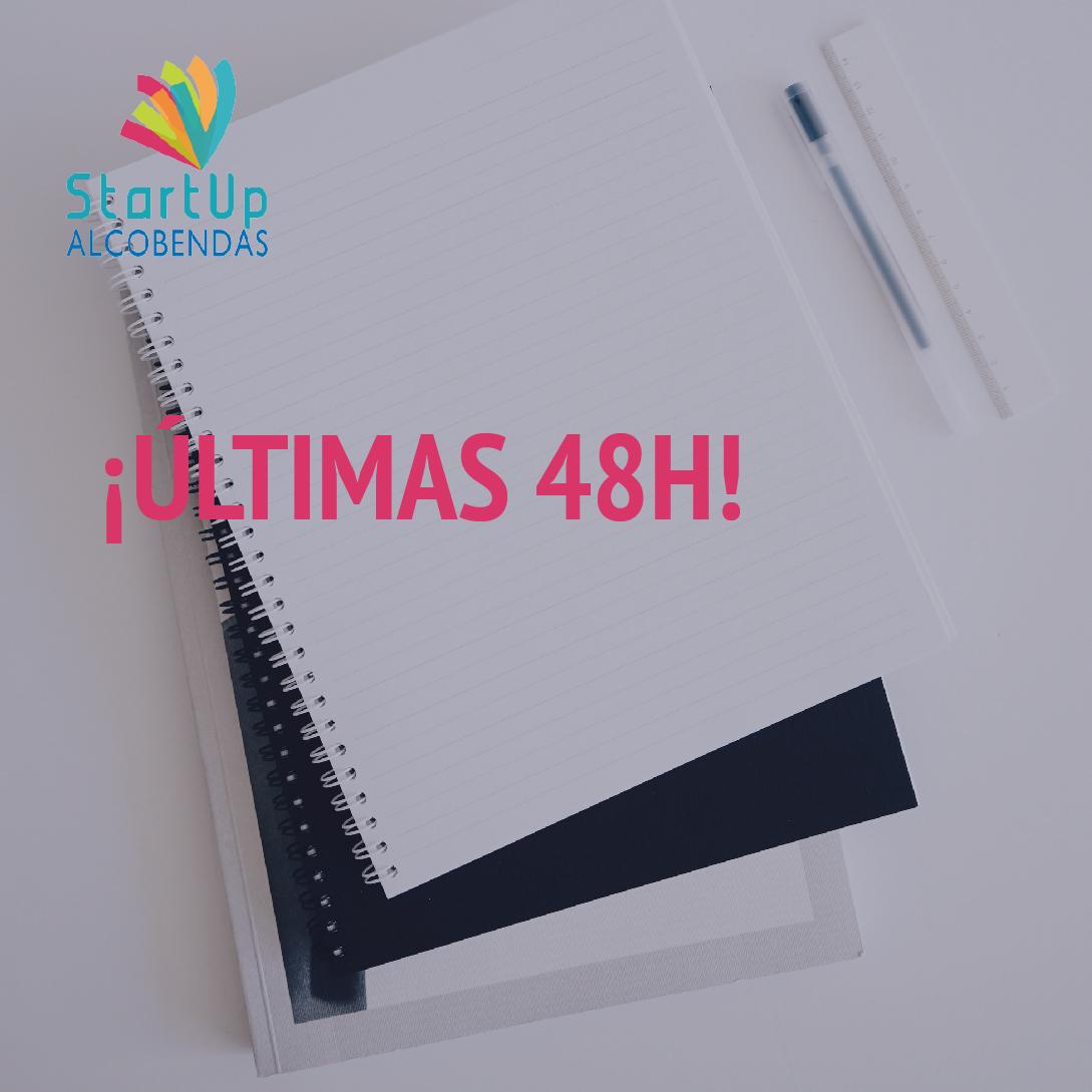 ¡Últimas 48h para aplicar a #StartupAlcobendas! Este domingo se acaba el plazo para poder sumar tu proyecto al ecosistema de innovación abierta del Ayuntamiento de Alcobendas. ¡No te quedes fuera!  https://t.co/IQOgG3lgkM https://t.co/pUxnFKgU21