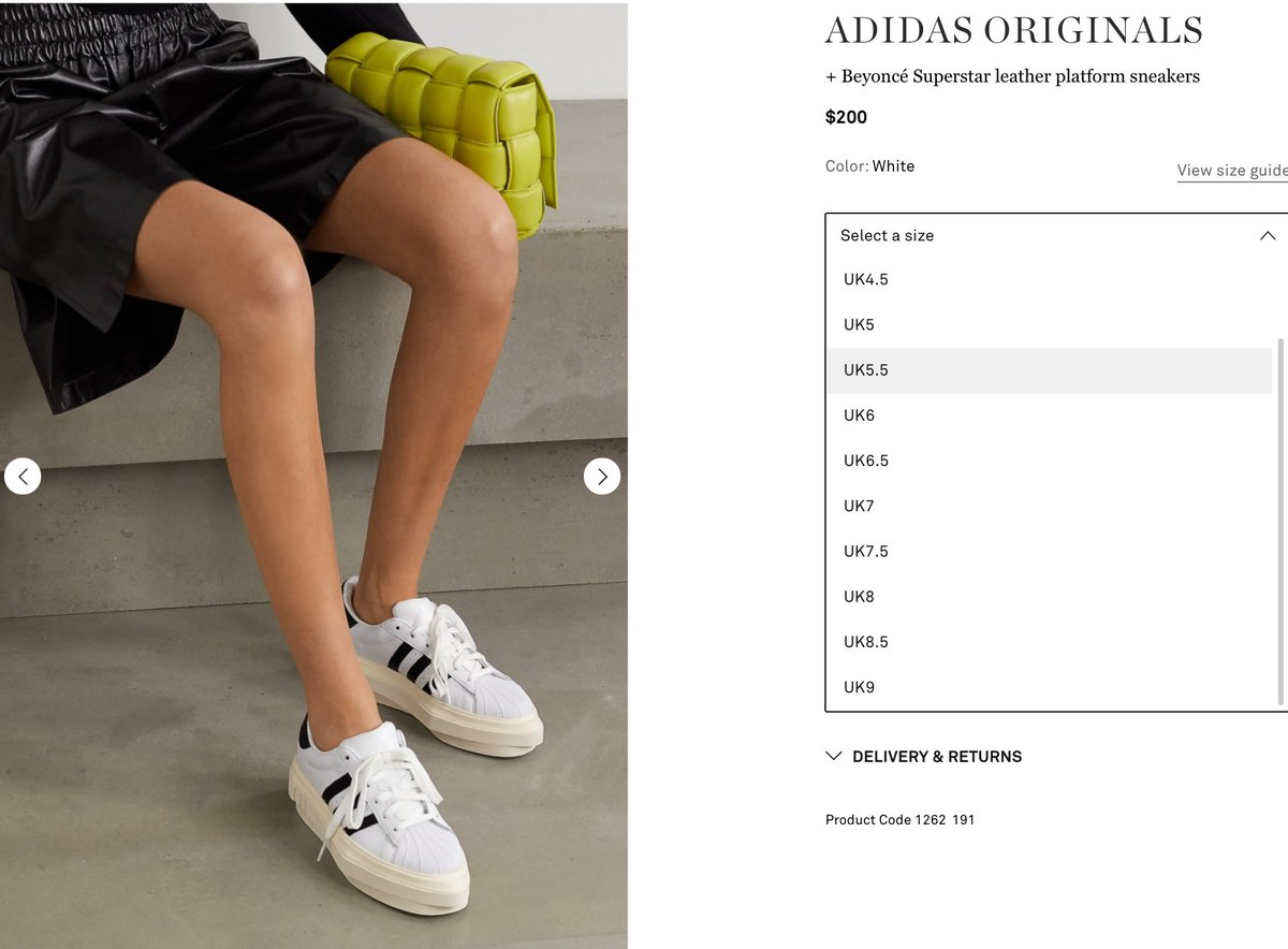 Solelinks On Twitter Ad Dropped Via Net A Porter Women S Beyonce X Adidas Superstar Https T Co F0h192s5ll