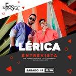Image for the Tweet beginning: 🔴CONFIRMADO🔴Este sábado hablamos con @LericaMusic