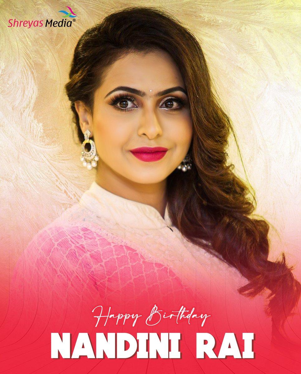 Happy Birthday #NandiniRai 🎉  #ShreyasMedia https://t.co/qJCHjdHTjs