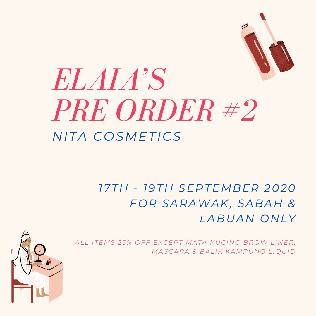 For Sabah, Sarawak & Labuan peeps, we got you! Save on shipping when you join our pre-order for this Malaysia Day Sale 😍 open until tomorrow midnight! ❤️ https://t.co/kib4RBvshx