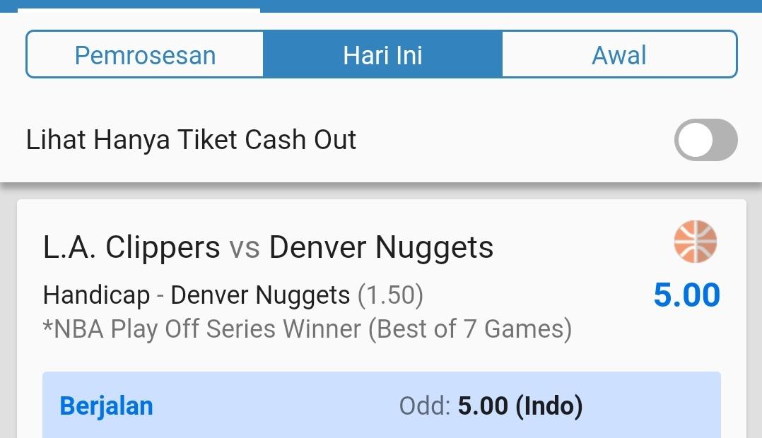 Dari awal juga yakin Nuggets akan fight melawan Clippers  Thanks @LAClippers ✊ #LakeShow https://t.co/k2KZs9JRxz https://t.co/OOy5LRjzOC