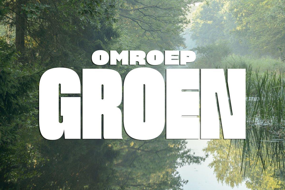 Een leuk nieuw initiatief: Omroep Groen. Zij willen in de media meer natuur laten zien. Neem een kijkje op https://t.co/jC8YWS4PhY @OmroepGroen https://t.co/oY0OBvGpD1