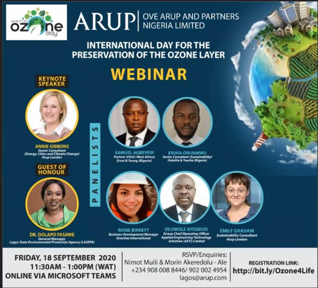 """#Sustainability has to be positioned as a strategic driver, which can be integrated into existing structures, process and job descriptions"""".   - @sallyuren CEO, Forum for the Future    Join us for the #Ozone4Life #WorldOzoneDay https://t.co/tNRuM55qAH"""