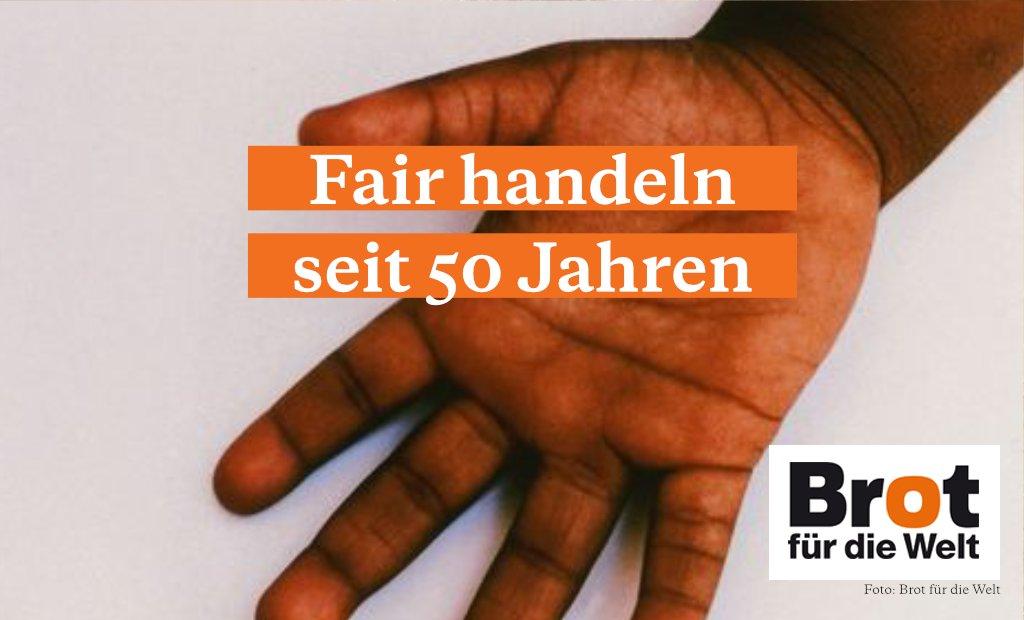 Seit mehr als 50 Jahren setzen wir uns vielen Ebenen für den Fairen Handel ein. Doch es bleibt noch viel zu tun. 💪 #FaireWoche #FairTrade   Hier klicken um mehr über die Erfolge zu erfahren: https://t.co/rPOqumOsjS https://t.co/ENLgjUaK63