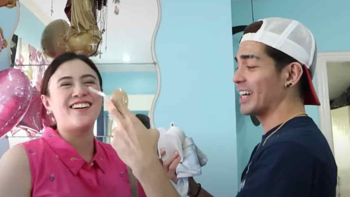 Mark Herras seeing what it says in the sonogram breaks into tears. Nicole Donesa is just as happy that Mark is getting his wish for a baby boy.  #BayanihanToday #MarkHerras #NicoleDonesa #Itsaboy https://t.co/IvZjpVnMem