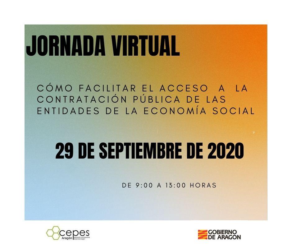 """Jornada virtual """"Cómo facilitar el acceso a la #contrataciónpública de la #EconomíaSocial"""" con un amplio grupo de expertos: Mª Josefa Aguado, Mª Asunción Sanmartín, Ana Budría, @G_Yanez @jcarlosmelian  @Fragalan @areiaragon @contratosreser1  Más info: https://t.co/MCXfveezc0 https://t.co/lJxwjsT0nl"""